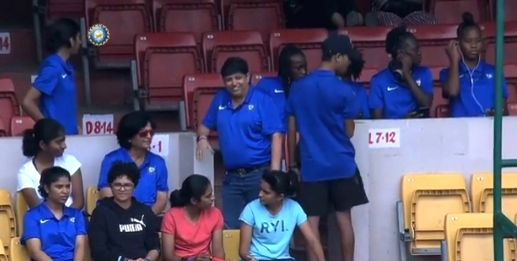 The 18 boys and 17 girls from 16 different countries who are currently being trained at the National Cricket Academy in Bengaluru were in attendance for the Vijay Hazare Trophy final between Tamil ...