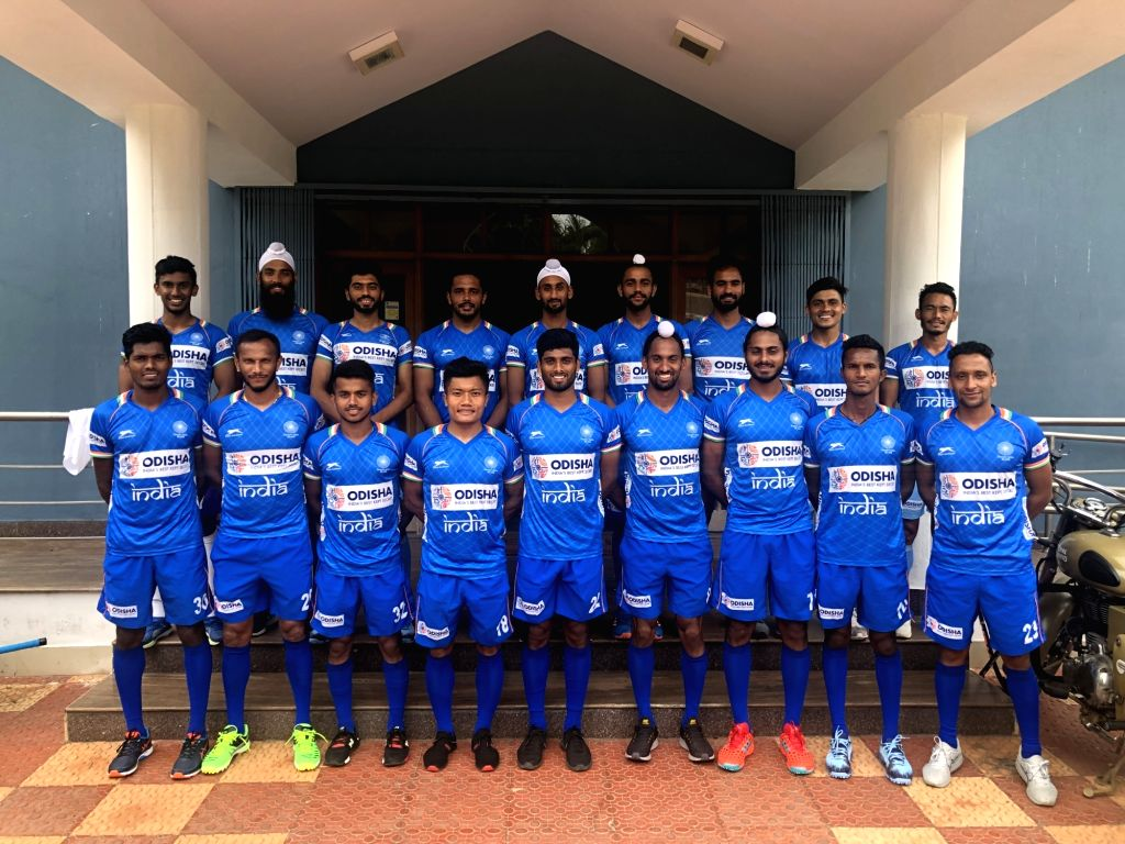 The 18 member Men's Hockey team that will represent India in the Olympic Test Event which is set to be played between 17-21 August 2019 in Japan.