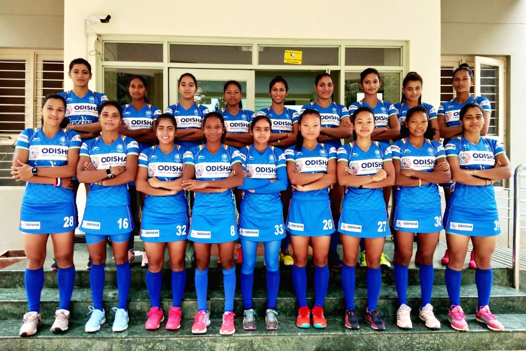 The 18-member Women's Hockey team that will represent India in the forthcoming Tokyo Olympics 2020 Test Event scheduled to take place in Tokyo, Japan from 17th - 21st August 2019.