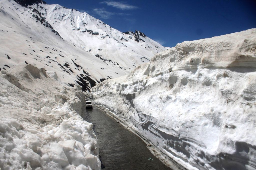 The 434 KM long Srinagar–Leh highway which remained closed for more than four months was thrown open for vehicular traffic on May 12, 2017.