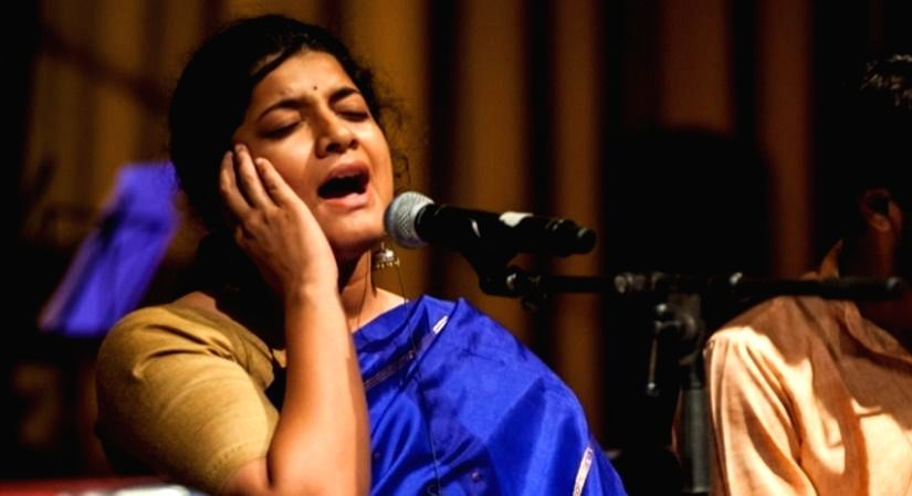 The 4th Edition of Baithak Series 'Swaradhyay'.(photo:IANSLIFE)