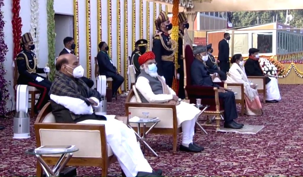 The 72nd Republic Day Celebrations from Rajpath, New Delhi.