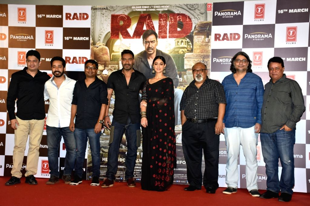 """The Ajay Devgn-starrer """"Raid"""", which released in 2018, is set to get a sequel. The follow-up film is already in scripting stage, and the makers are considering the creation of """"huge multi-film franchise based on the lines of 'Raid'"""". (Photo: IANS) - Ajay Devgn"""