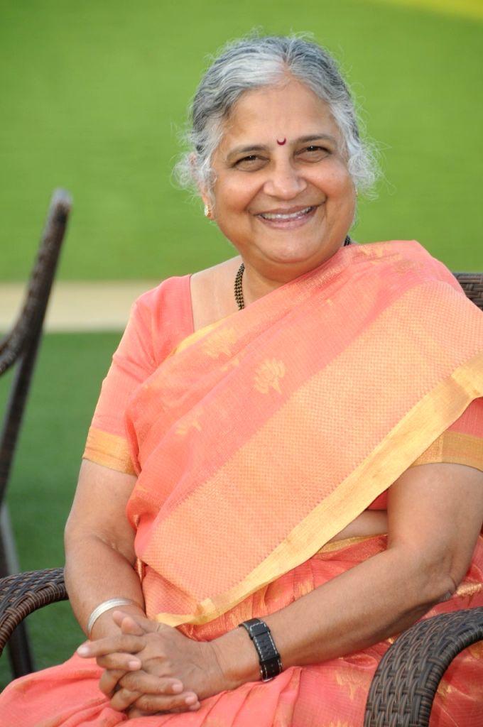 The author, Sudha Murty
