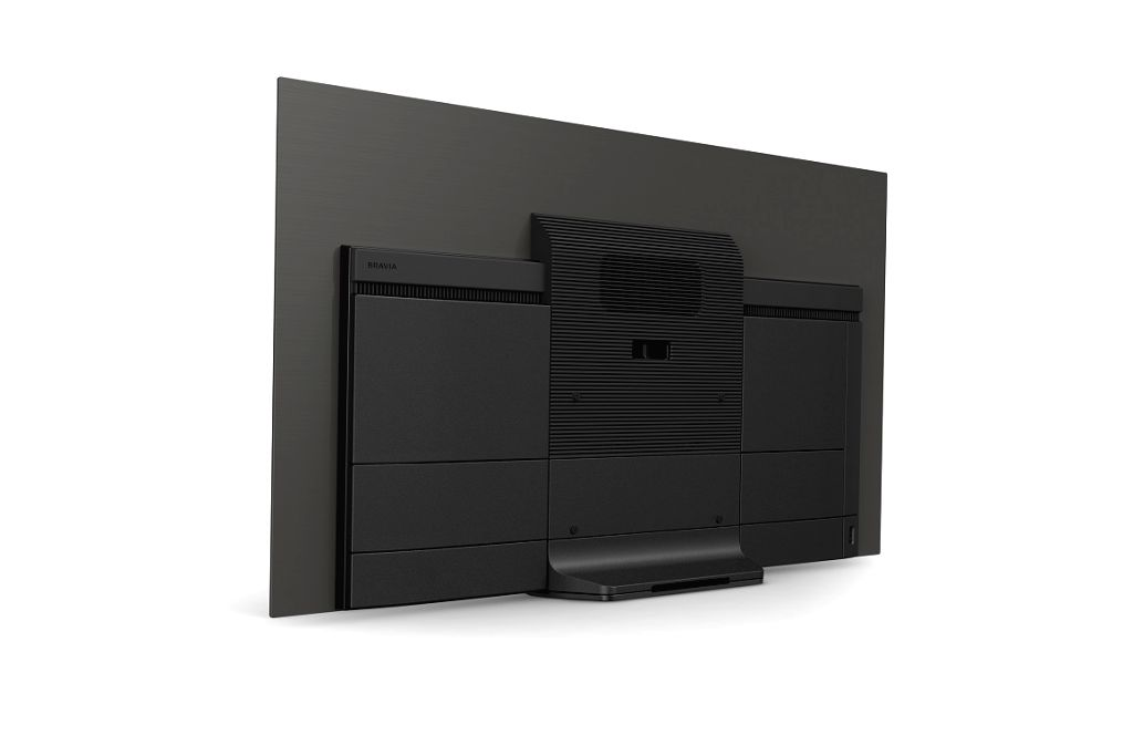 The back view of Sony Bravia OLED TV