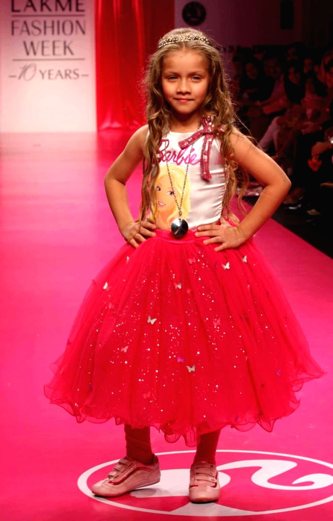 "The ""Barbie All Doll'd Up"" show at Lakme fashion week for Fall Winter 2009."