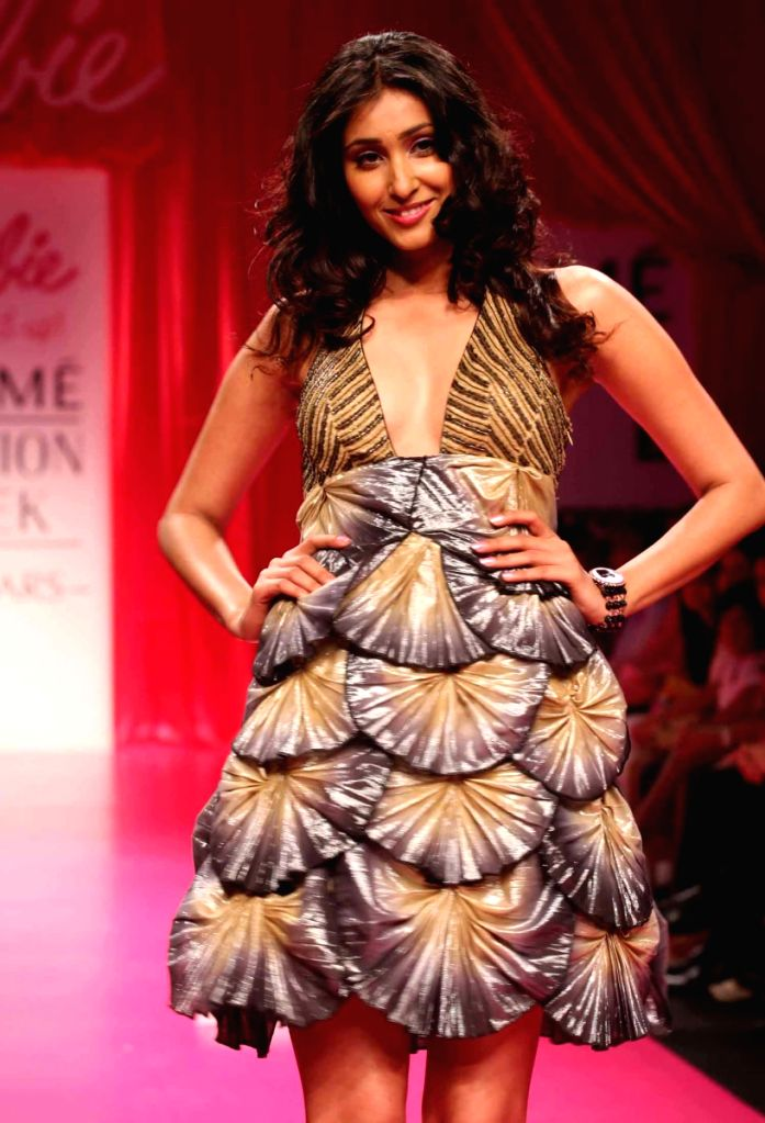 """The """"Barbie All Doll'd Up"""" show at Lakme fashion week for Fall Winter 2009."""