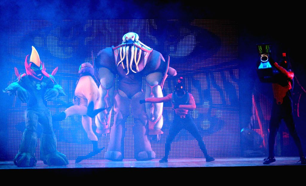The BEN 10 live show at the Siri Fort Auditorium in New Delhi. (Photo: IANS/Amlan)