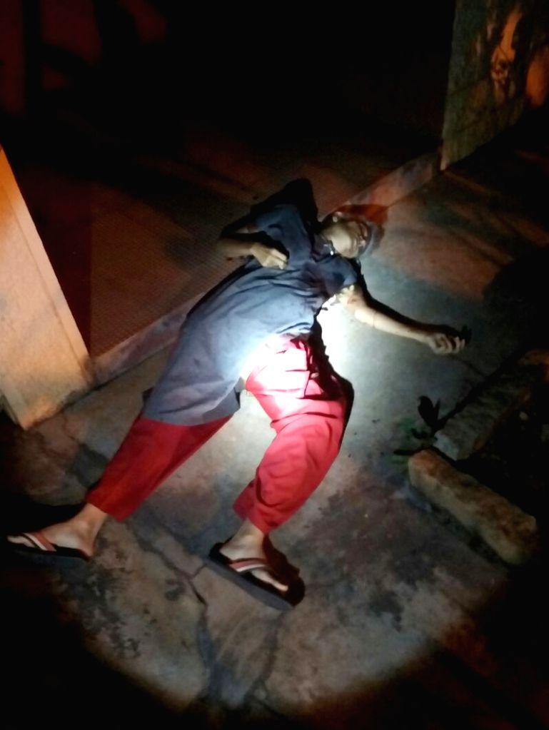 The body of Senior journalist Gauri Lankesh, who was shot dead by unidentified men at her residence, Rajarajeshwari Nagar in Bengaluru on Sept 5, 2017.