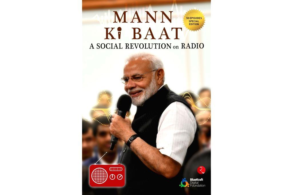 "The book cover of ""Mann Ki Baat: A Social Revolution On Radio""."