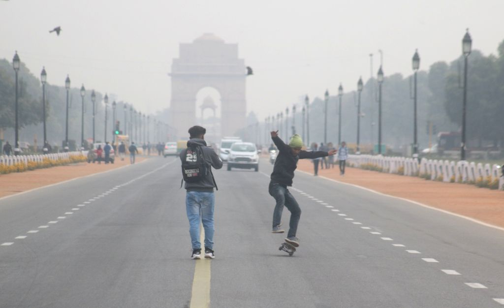 The capital woke up to a cloudy morning on Feb 12, 2018. According to the weather office, cloudy weather brought the minimum temperature to 13 degrees Celsius, three notches above the ...
