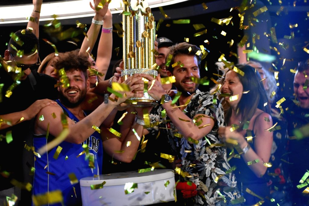 The Celebrations as Ramon Colillas of Spain wins 5.1 million dollars.
