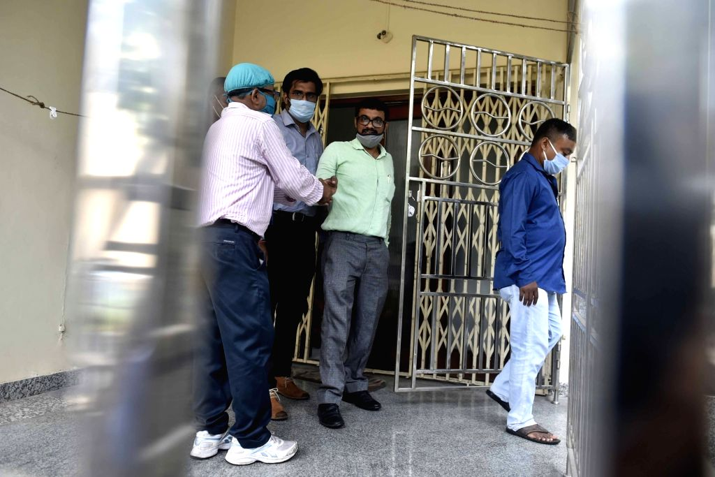 The Central Bureau of Investigation (CBI) conducts raids at the residence of Border Security Force (BSF) Commandant Satish Kumar, in an illegal cross-border cattle trade case, at Salt Lake ... - Satish Kumar