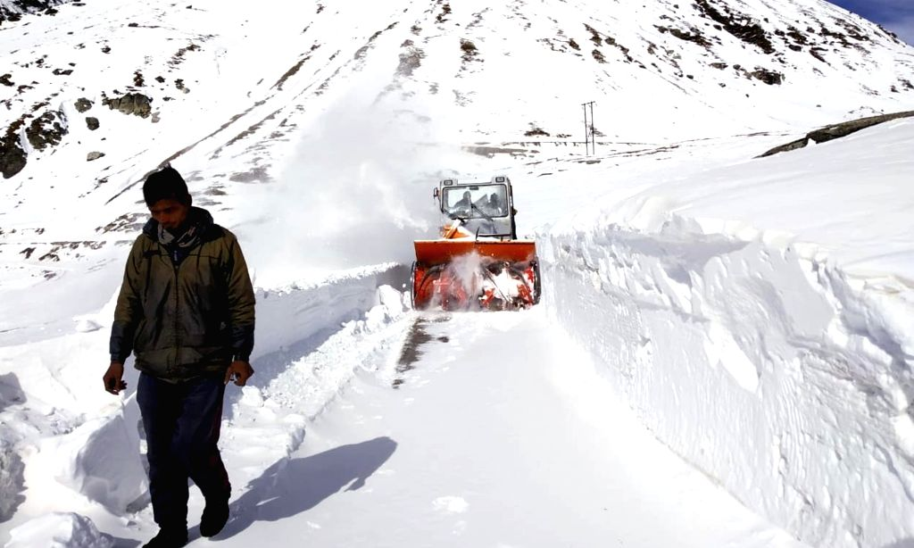 The construction of one of the world's most challenging motorways - the Rohtang Pass highway tunnel - in the Himalayas of Himachal Pradesh is likely to be completed by 2020, according to the project engineers. (Photo: IANS)