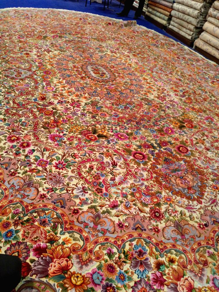 The costliest carpet at DSF 2016