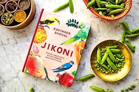 The cover of ???Jikoni??? cookbook.