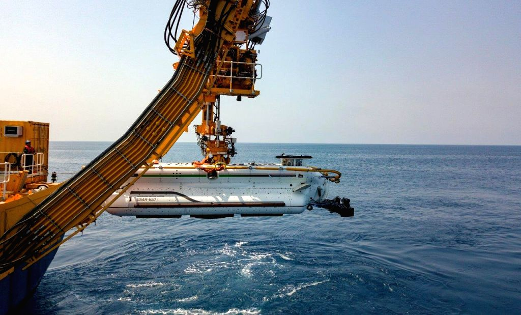 The Deep Submergence Rescue Vehicle (DSRV) based at Visakhapatnam, successfully undertook a live mating exercise, which included personnel transfer from the bottomed submarine, INS ...