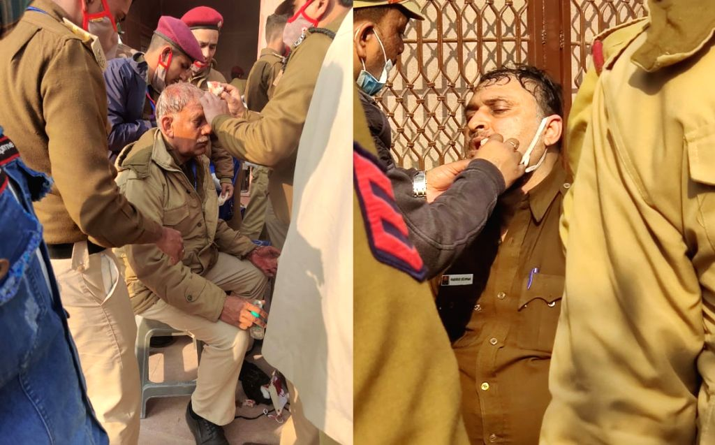The Delhi Police on Tuesday said legal action would be taken against violent protesters who not only violated mutually agreed guidelines with the police but also went on a rampage and damaged ...