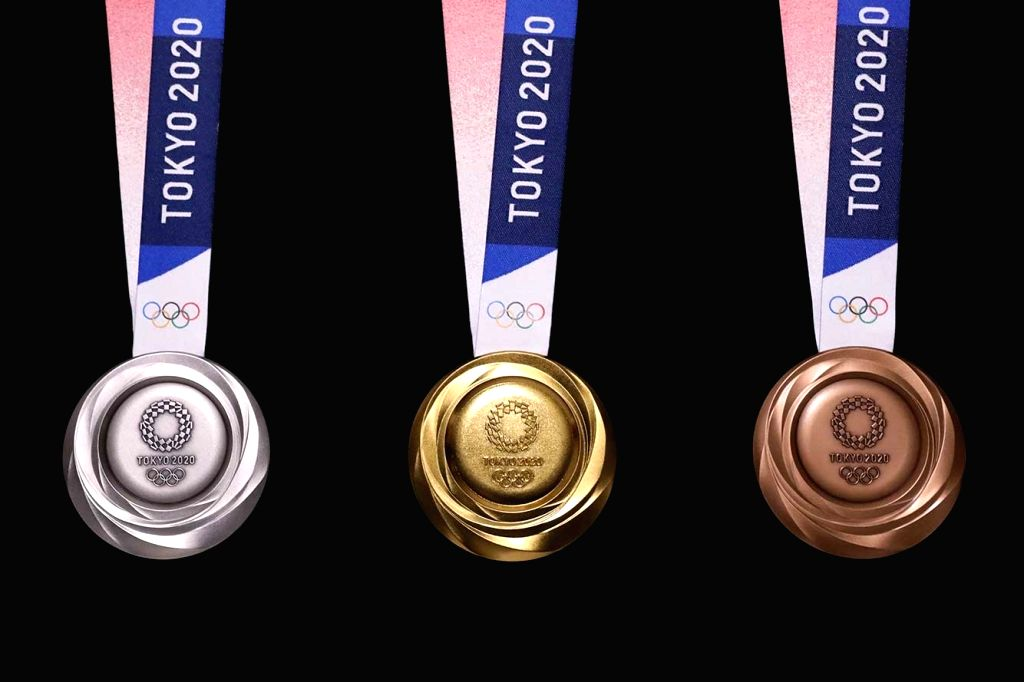 The design for the Tokyo 2020 Olympic medals were unveiled on Wednesday, exactly one year to the event???s opening ceremony, during a special countdown occasion held at the Tokyo International Forum.