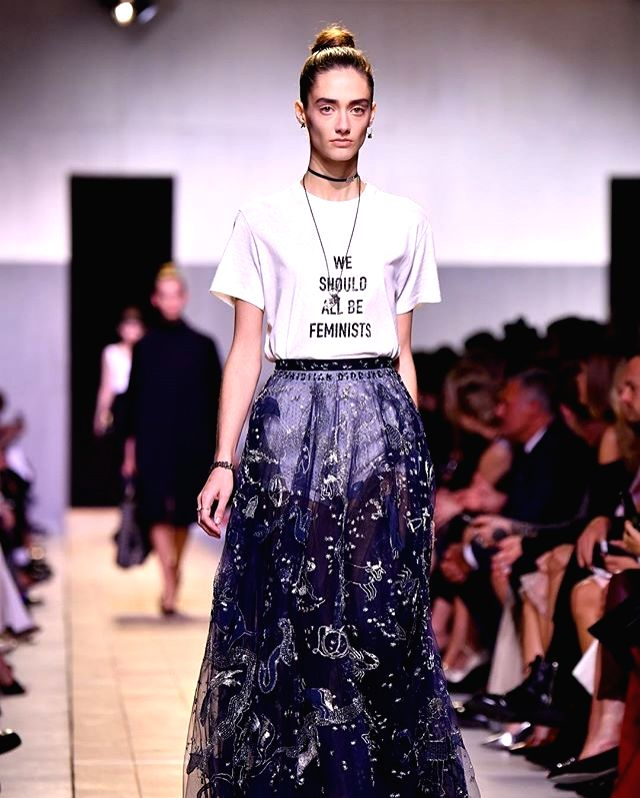 The  Dior T-Shirt that ushered in a new era. (Source : Instagram)