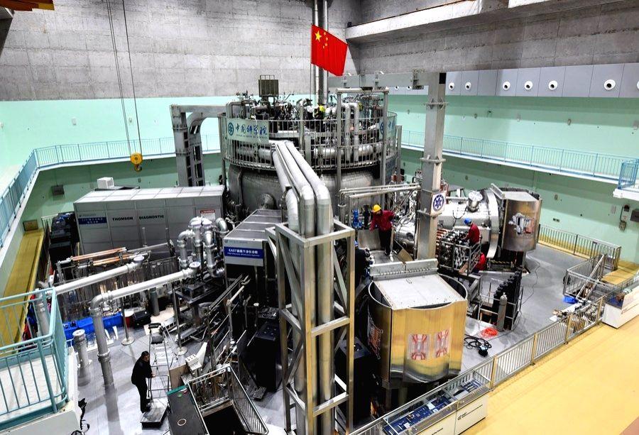 The experimental advanced superconducting tokamak (EAST). . Credit Xinhua/Zhou Mu
