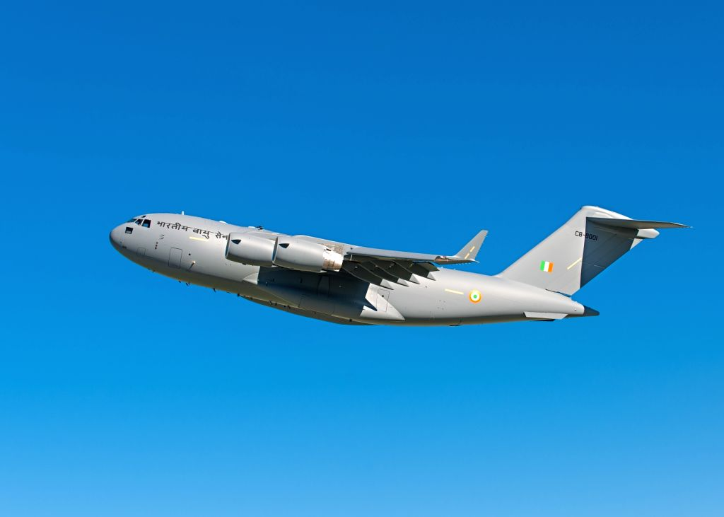 The first of 10 Boeing C-17 Globemaster III airlifters for the Indian Air Force (IAF) is all set to enter a US Air Force flight test programme at Edwards Air Force Base in Palmdale, alifornia.