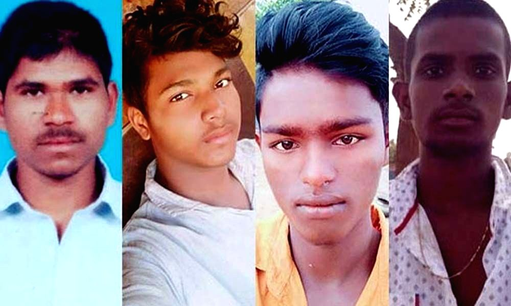 The four accused in the brutal gang rape and murder of a young veterinarian in Hyderabad, who were killed by the police in an alleged 'encounter' near Shadnagar town of Telangana's Ranga ... - Ranga Reddy