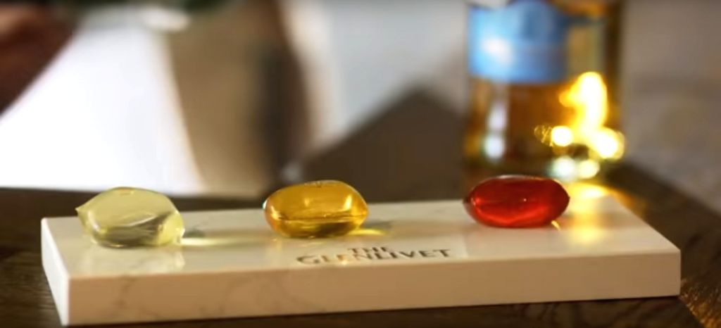 The Glenlivet, a 195-year-old Scotch whisky distillery took to the Twitter to introduce a collection of edible cocktail capsules.