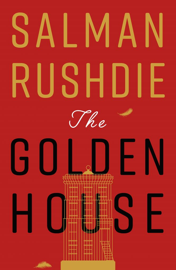 The Golden House Book Cover.