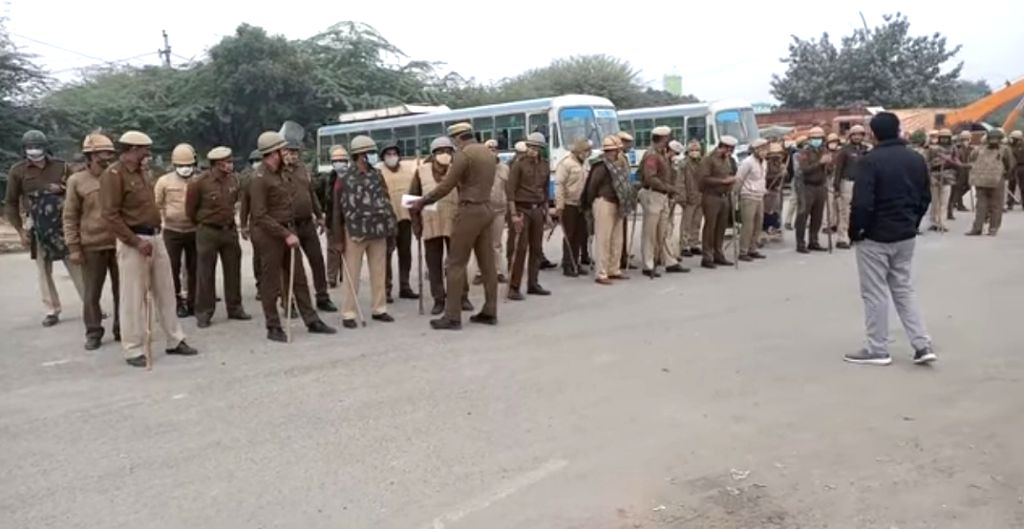 The Gurugram police have been put on high alert in view of the farmers' threat of blocking the Kundli-Manesar-Palwal (KMP) Expressway against the three agricultural laws and to mark Day 100 of ...