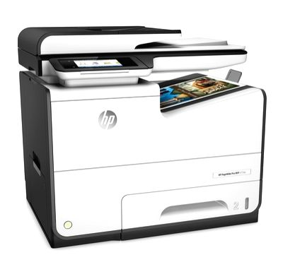 The HP PageWide pro 577dw printer has a stationary printhead that spans the width of a page and allows for higher print speeds and better-quality text and graphics than standard inkjets. (Photo: HP)