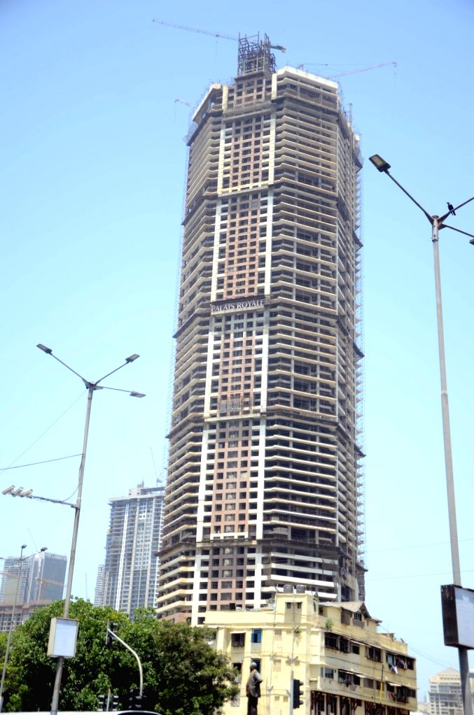 The iconic 'Palais Royale' building at Worli Naka in Mumbai, on May 4, 2019. In a major development, Indiabulls Housing Finance Ltd (IHFL) has decided to auction the Palais Royale building to ...