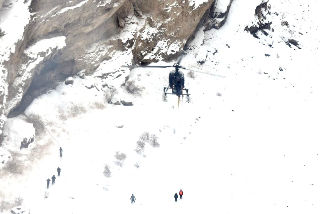 The Indian Army's Fire and Fury Corps has rescued six seriously ill tourists who were stranded during a trek on the Zanskar river in Ladakh after multiple search and rescue columns were launched. The group of tourists were stranded in bad weather whi