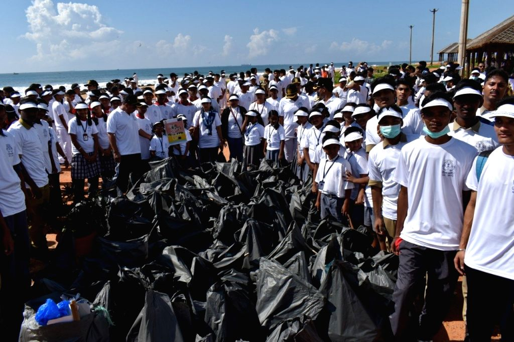 The Indian Coast Guard conducted a massive beach clean-up drive along the coastline of the country on Sep 21 on the occasion of International Coastal Cleanup Day. The International Coastal ...