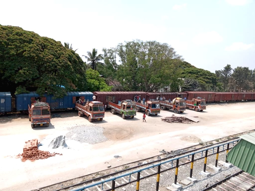 The Indian Railways, which has been transporting essential items across the country, on Wednesday achieved record grain loading of 112 rakes, which is equivalent to 3.13 lakh tonnes.