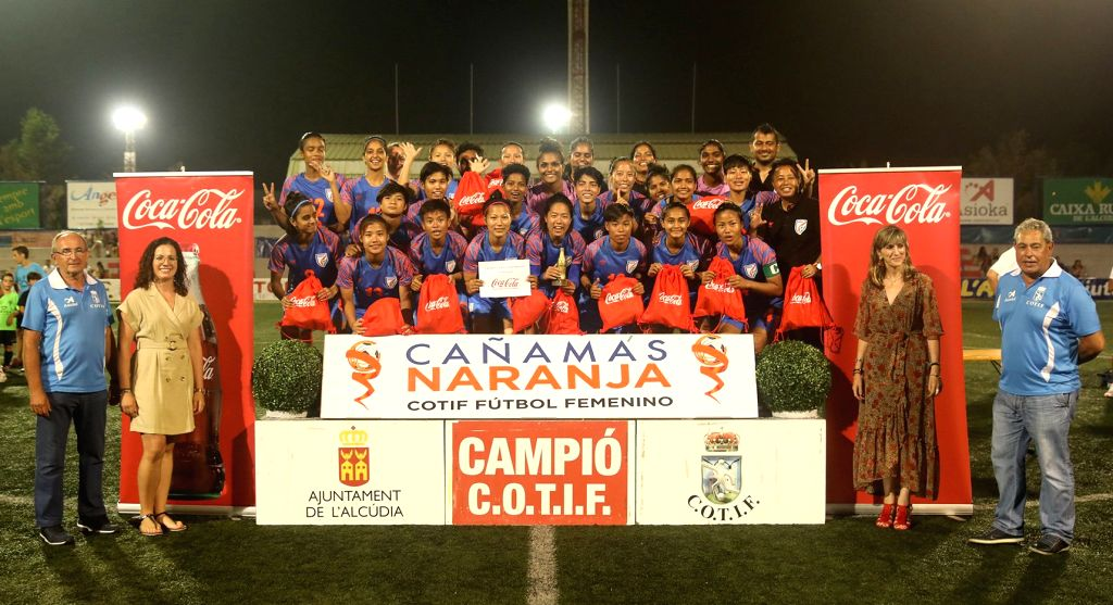 The Indian women's football team have impressed one and all with its performance in the COTIF Cup 2019 in Valencia (Spain)  so much so that the tournament's President was moved to hand them a special ...
