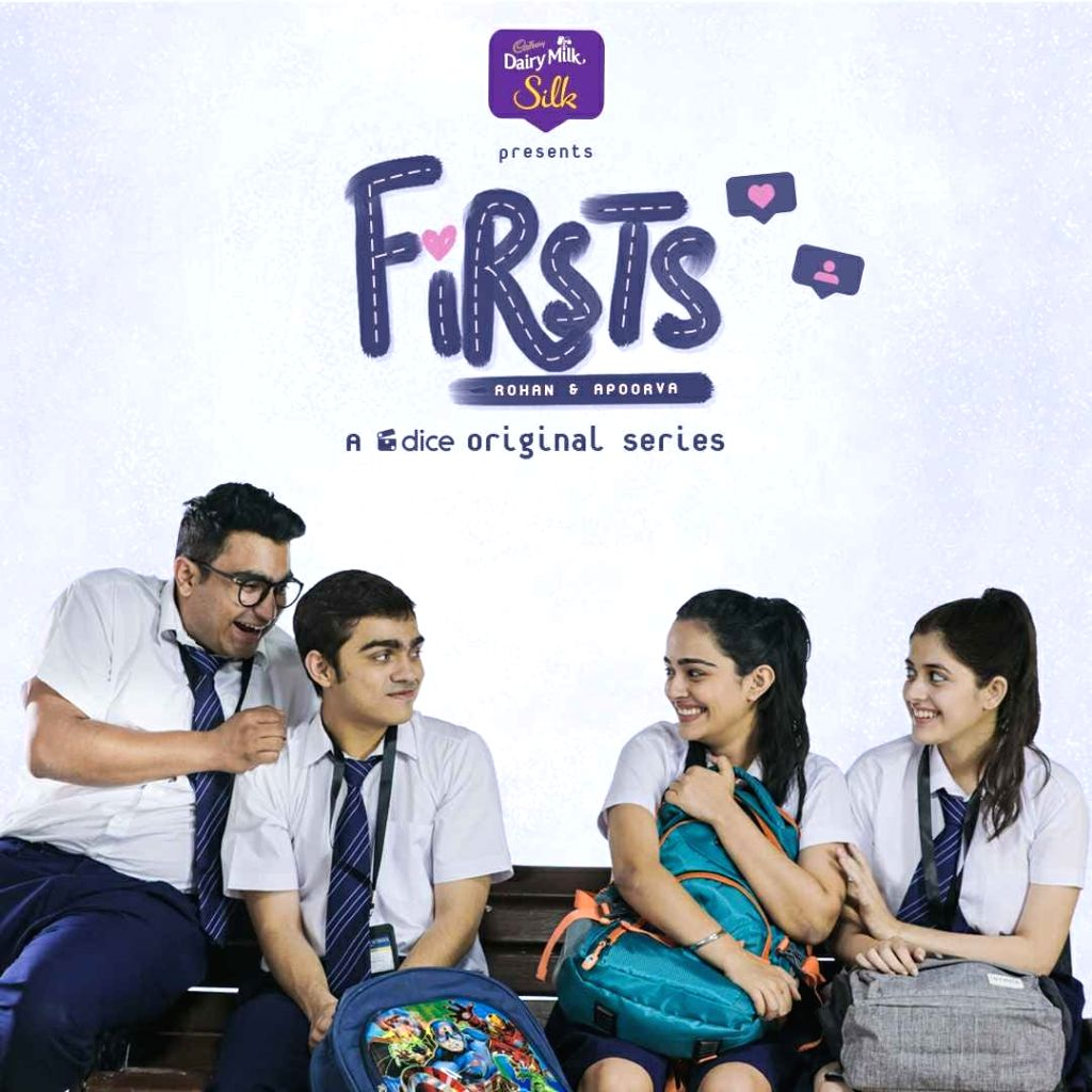 """The Instagram-based web series """"Firsts"""" has created a record by garnering 26 million views including YouTube and Facebook till date. On Instagram alone, the show has 16 million views. ... - Rohan Shah and Apoorva Arora"""