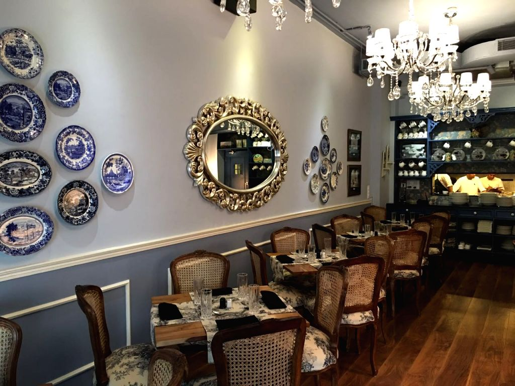 The interiors of Tattlers and mouth-watering dishes offered there