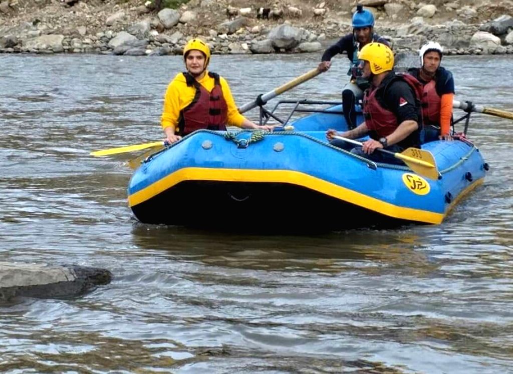 The Jammu and Kashmir government on Friday suspended rapid water rafting in the valley's Lidder and Sindh streams. (Photo: IANS)
