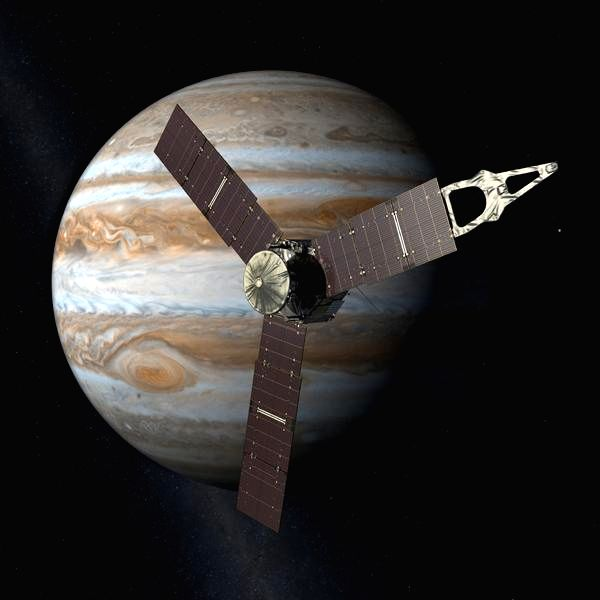 The Juno spacecraft will arrive at Jupiter in 2016. (Photo: NASA)