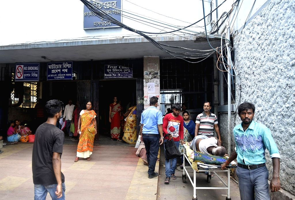 The labour room and gynaecology ward of NRS Medical College and Hospital here have been temporarily shut down after a woman patient who gave birth to a baby tested positive for the coronavirus infection. (Photo: IANS)