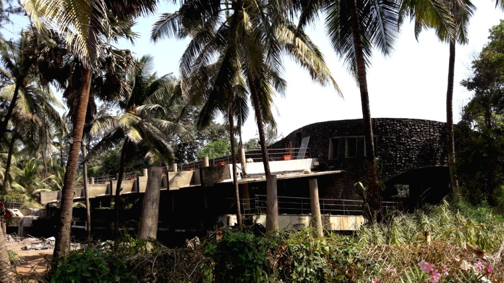 The luxurious beach bungalow of absconding diamantaire Nirav Modi, one of the prime accused in the Punjab National Bank scam; in Mumbai on March 8, 2019. - Nirav Modi