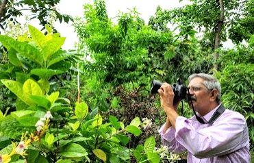 The man who created a real forest amidst Vizag's concrete jungle.