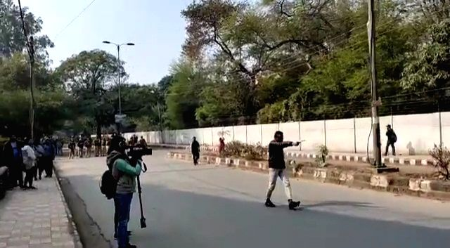 The man who opened fire on students during a protest march against the Citizenship Amendment Act (CAA) and the National Register of Citizens (NRC) conducted by Jamia Coordination ...