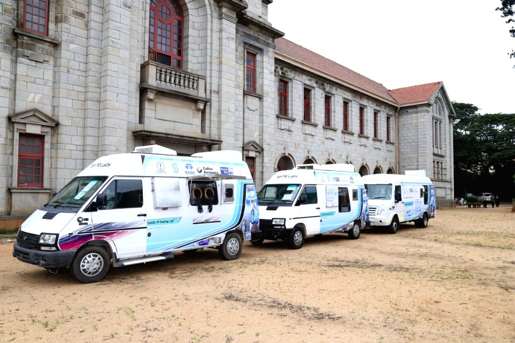 The Mobile Infection Testing and Reporting labs in the Indian Institute of Science (IISc) campus in Bengaluru.
