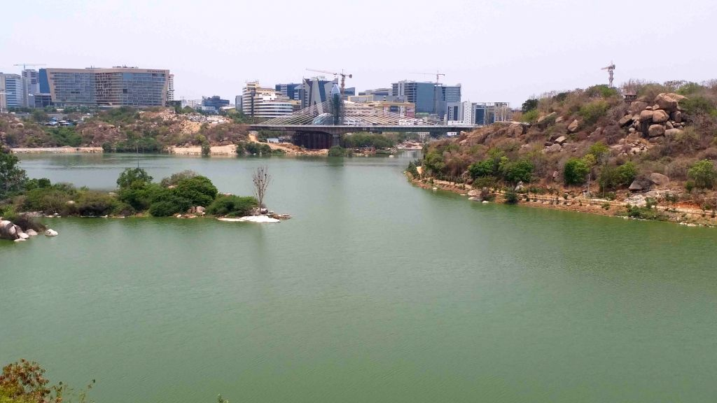The much awaited cable stay bridge at Durgam Cheruvu in Hyderabad that is all set to dazzle with its architectural lighting with the Greater Hyderabad Municipal Corporation taking the ...