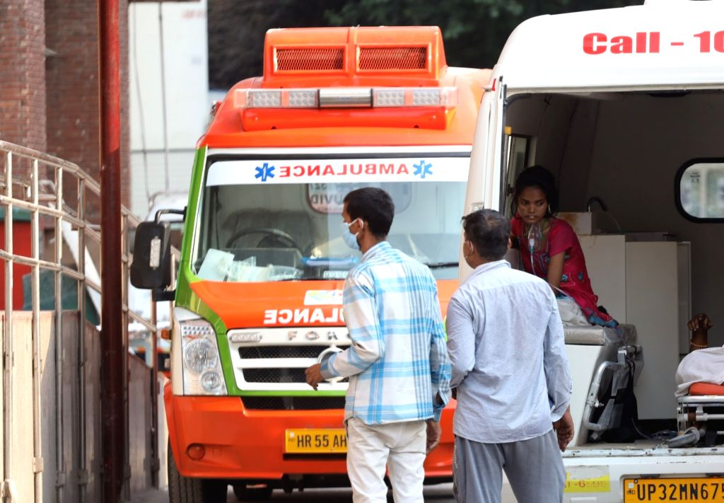 The national capital on Saturday witnessed 2,505 new coronavirus cases and 55 deaths, pushing Delhi's tally to 97,200 and number of fatalities to 3,004, according to Delhi government's daily bulletin. (Photo: IANS)