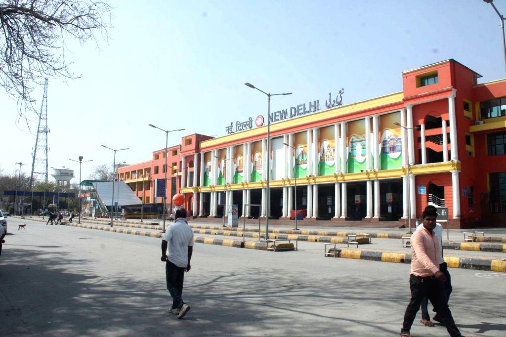The New Delhi Railway Station. (Photo: IANS)