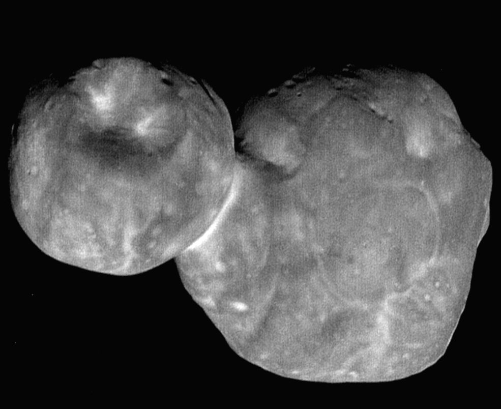 The new images of Ultima Thule was obtained just six-and-a-half minutes before New Horizons' closest approach to the object officially named 2014 MU69.