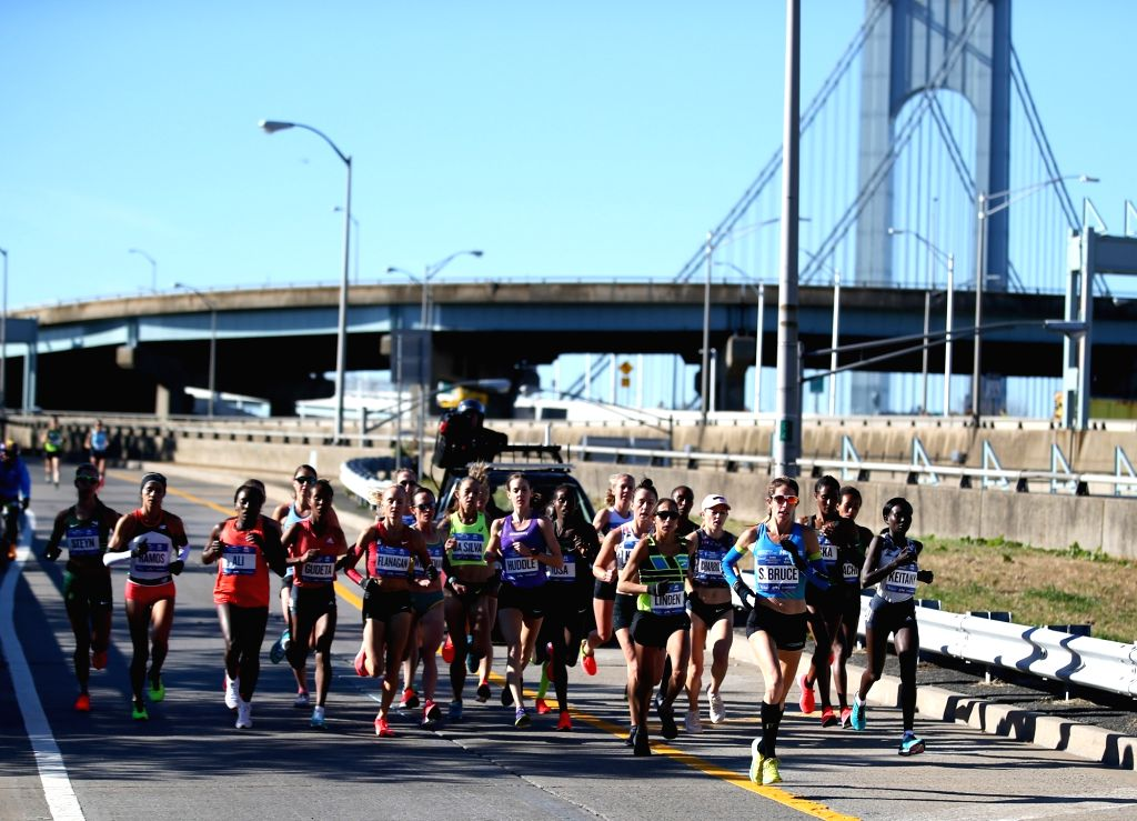 The New York City Marathon, set to take place on November 1, has been cancelled due to health and safety concerns. (File Photo: Xinhua/Qin Lang/IANS)